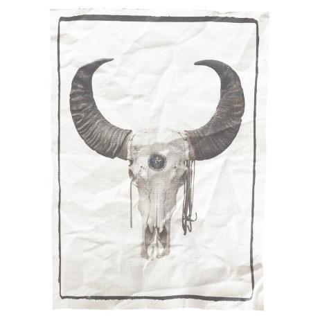 "Canvas print ""Skull"""