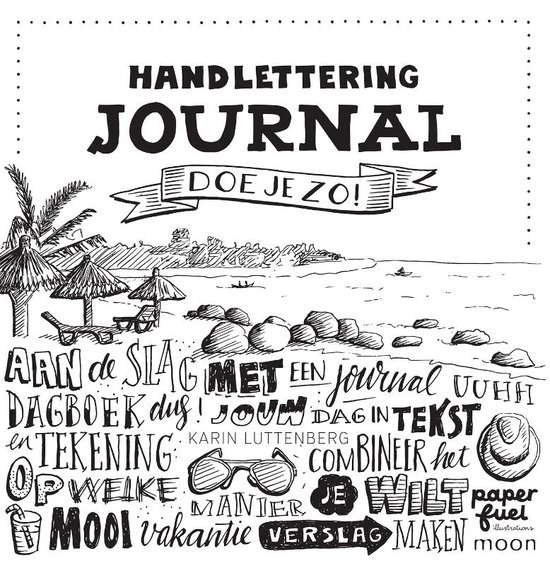 "Boek ""Handlettering Journal"""