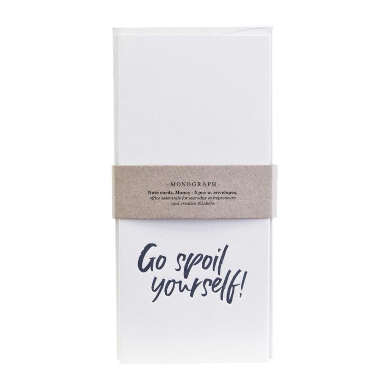 """Cadeau enveloppen """"Spoil yourself"""""""