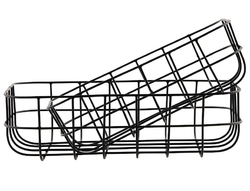 "Wire basket ""Simply"" black"