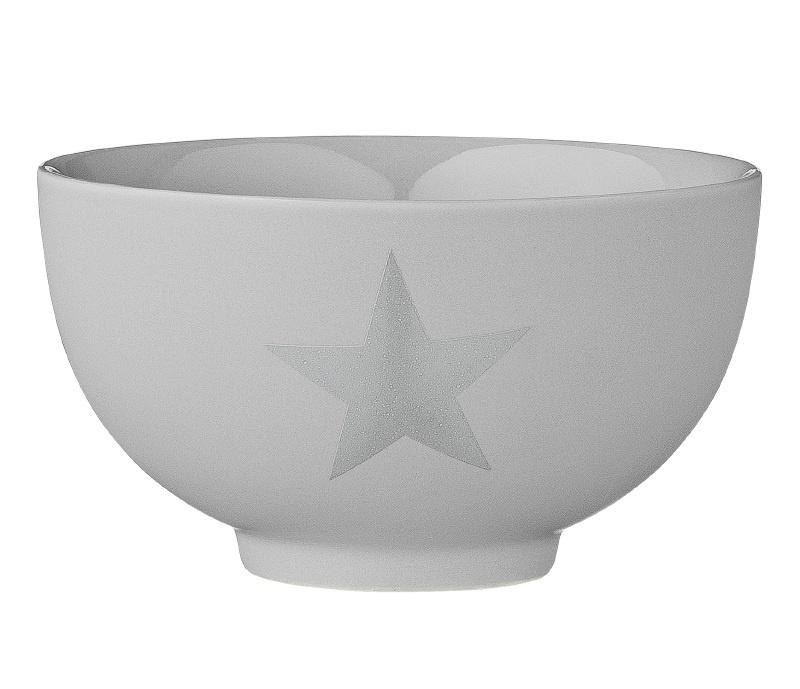 "Bowl ""Star"" Grey"