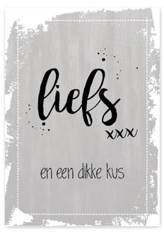"""Postcard """"Liefs"""""""