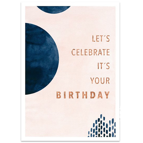 "Kaart ""Celebrate"""