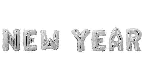 """Ballonnen """"New Year"""""""