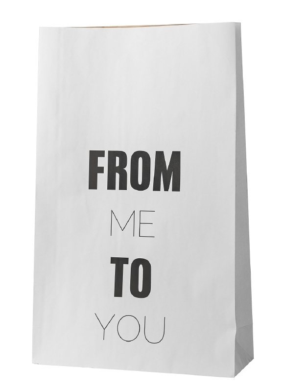 """Paperbag """"From me to you"""""""