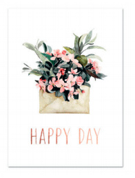 "Kaart ""Happy day"""
