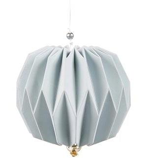 """Hanger """"Origami"""" blauw"""