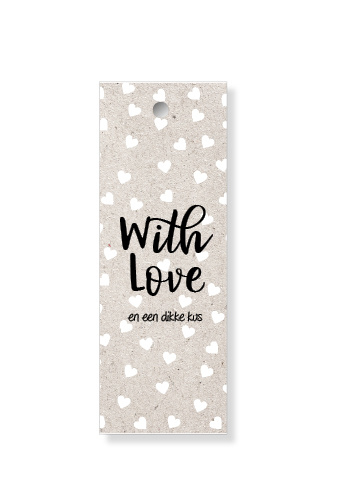 "Label ""With love"""