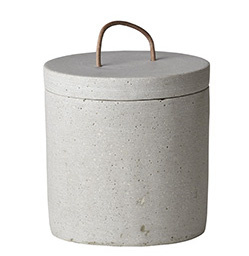 """Jar """"concrete"""" low"""