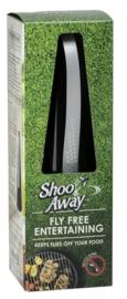 ShooAway houdt vliegen weg van uw eten