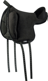 Bare back saddle