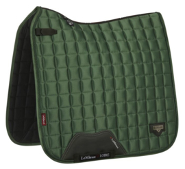 LMX Loire Classic Satin  Square   hunter green