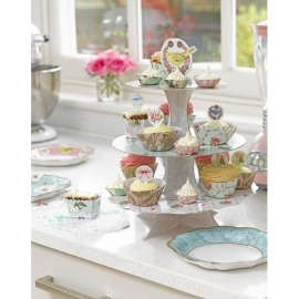 Cakestand/etagere 3-laags frills and frosting