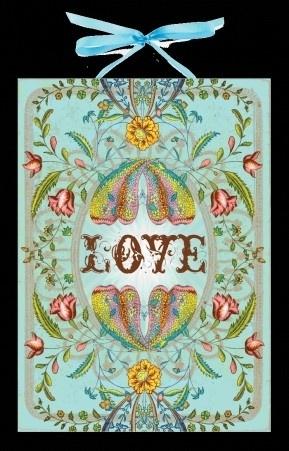 Art panel 'Love'