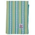 Theedoek `vintage stripe green`
