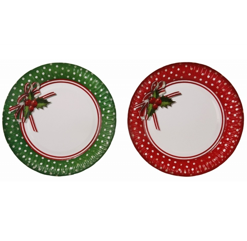 Jolly Holly Plate
