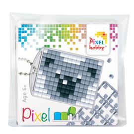 Pixelhobby Pixel mosaic medaillon startset koala sleutelhanger
