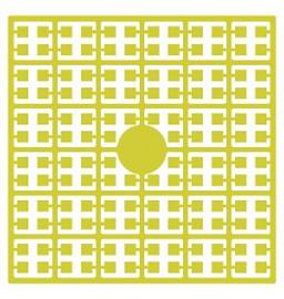 Pixelhobby matje 140 pixels nummer 133 citroengeel
