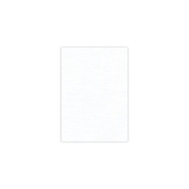 Card Deco linnenkarton A5 wit 25 vellen 240 grams