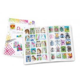 Pixelhobby A5 inspiratie boek voor medaillons 52 pagina's 14,8 x 21 cm