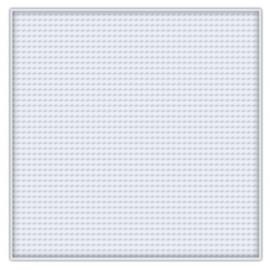 Pixelhobby basisplaat groot vierkant wit flexibel 12 x 12 cm