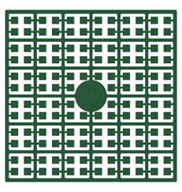 Pixelhobby matje 140 pixels nummer 242 Kerstgroen