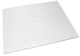 Pixelhobby XL op 4 basisplaten terriër 20 x 25 cm