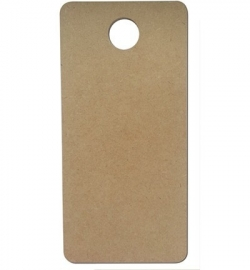 Joy!Crafts MDF deurhanger 12 x 25 cm dikte 3 mm
