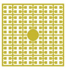 Pixelhobby matje 140 pixels nummer 181 citroengeel donker