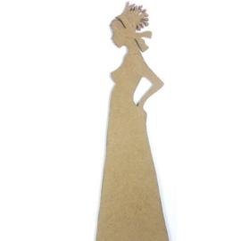 MDF Rico Design Galerie African Lady 2 45 cm, 5 mm dik