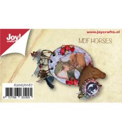 Joy! Crafts MDF set mini fotoalbum paard 6200/0167