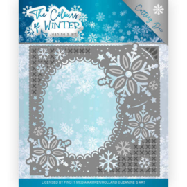 Jeanine's Art The Colours of Winter frame die (mal) JAD10108