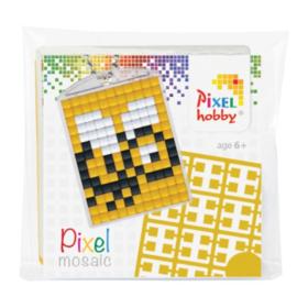 Pixelhobby Pixel mosaic medaillon startset bij sleutelhanger