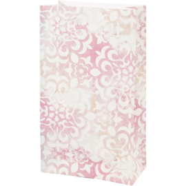 Vivi Gade Design papieren zakken aquarel 10 stuks 80 grams 21 x 6  x 12 cm