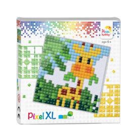 Pixelhobby Pixel XL set baby giraf 12 x 12 cm