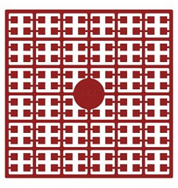 Pixelhobby matje 140 pixels nummer 144 rood Kerstmis middel