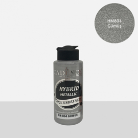 Cadence Hybrid metallic verf for multisurfaces HM-804 silver 120 ml