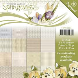 Precious Marieke Springtime paperpack 24 vellen 170 grams PMPP10009