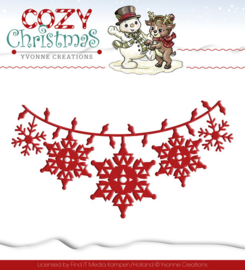 Yvonne Creations Cozy Christmas mal, Christmas Light YCD10036