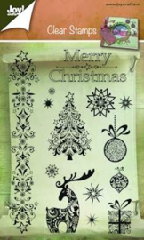 Joy!Crafts clear stamps Christmas Joy 6410/0127