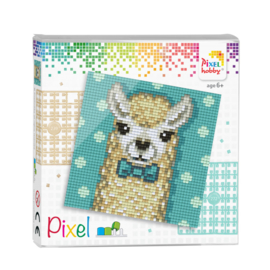 Pixelhobby Pixel set alpaca 12 x 12 cm