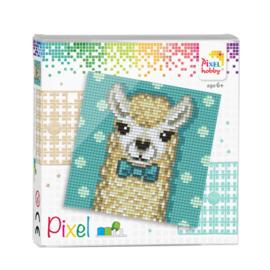 Pixelhobby Pixel set alpaca white 12 x 12 cm
