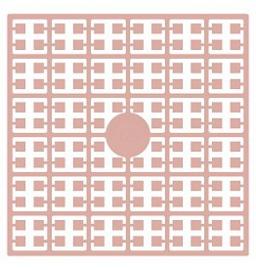 Pixelhobby matje 140 pixels nummer 129 schelpenroze heel licht