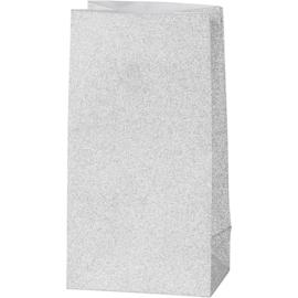 Vivi Gade Design papieren zakken zilver 8 stuks 120 grams 17 x 6  x 9 cm
