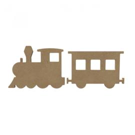 Gomille MDF (trein) wagon 15 x 9,7 cm dikte 5 mm
