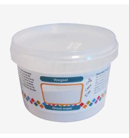 Colourful Mosaics Grout voegsel wit emmertje 500 gram