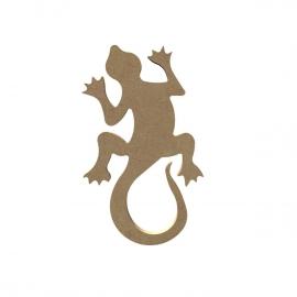 Gomille MDF gecko (458) 15,7 x 9,3 cm dikte 5 mm