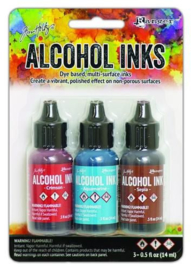 Tim Holtz Ranger alcohol ink kits rodeo 3 x 14 ml TAK58755 R
