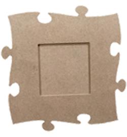 MDF Pronty vierkant puzzelstuk 24 x 24 cm 461.255.000