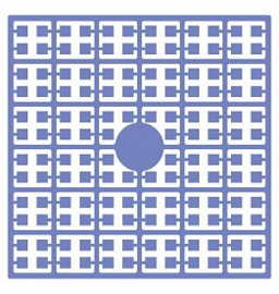 Pixelhobby matje 140 pixels nummer 112 duivenblauw